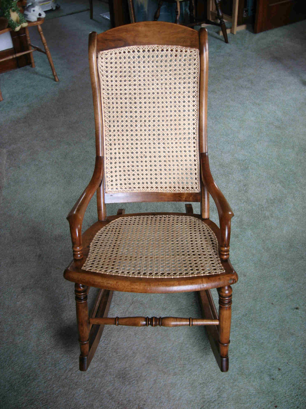 Superb img of Chair Caning Experts in Ohio Rick's Wood & Wire Pemberville OH with #6C4026 color and 1024x1365 pixels