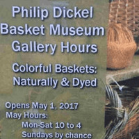 Colorful Baskets Exhibit 2017