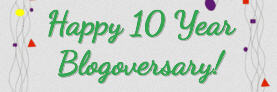 Weavin' Wicker Woman Blog 10-Year Blogoversary!