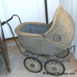 1920 wicker buggy