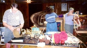 2001 John Campbell Folk School Wicker Repair Class