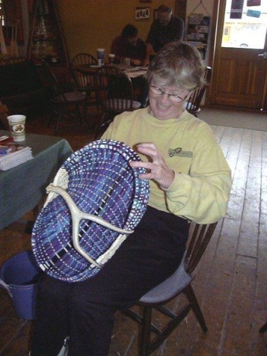 Antler Basket Classes at Branson Basket Seminar