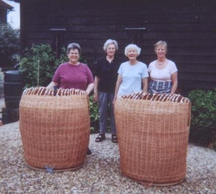 BA members Cathryn Peters, Bunty Ball, Olivia Elton Barratt and ???