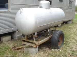 250 gal LP tank trailer