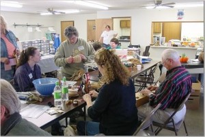 onion basket weaving class