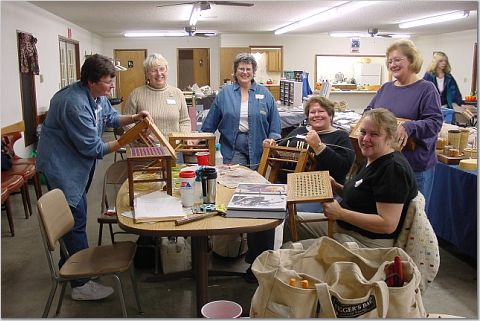 New Seatweaving Guild Featured in Newspaper Article!