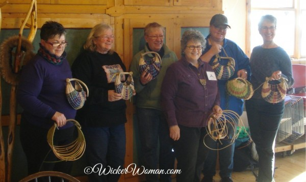 Antler Basket Class Students and Peters