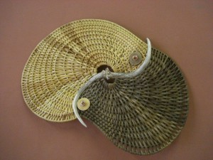 """Yin-Yang II"" Antler Basket Wall Sculpture"