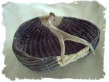 Jade-Peters Antler Basket