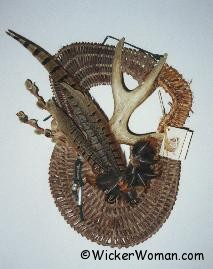 Bonita's Present Antler Wall Sculpture Pattern