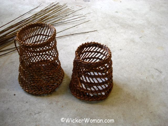 Burkina willow baskets