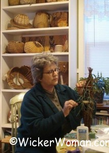 Cathryn Peters antler basketmaker