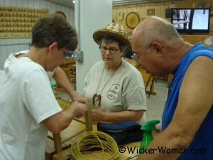 Cathryn Peters caning class MASW-2011