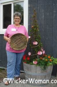 Cathryn Peters willow tray