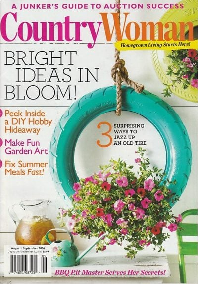 Country Woman Magazine Aug/Sept 2016