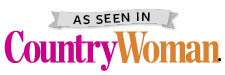 Cathryn Peters as seen in August/September 2016 issue of Country Woman Magazine