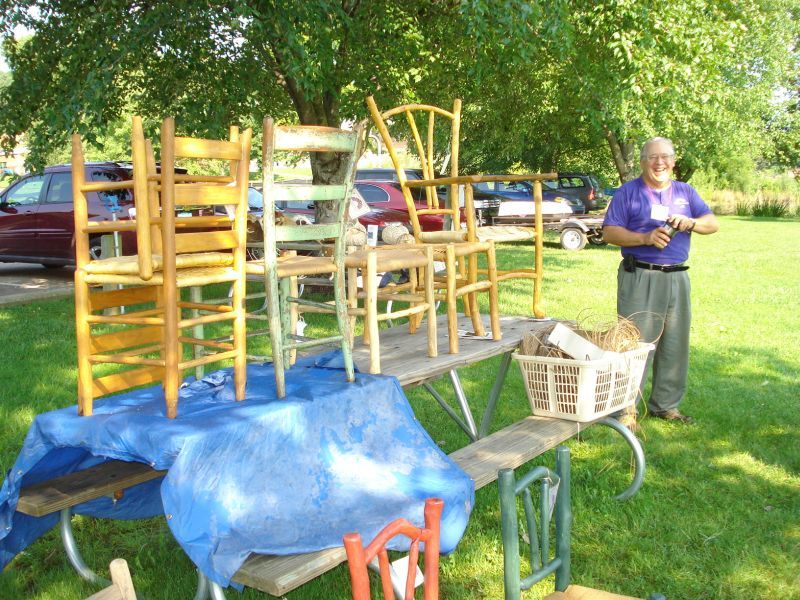 Rare Chair Seating Exhibition in Scotts, Michigan