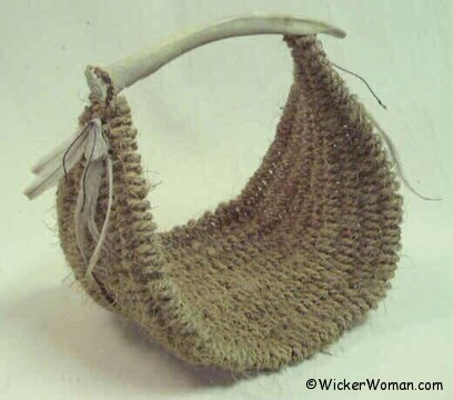 Destination Antler Basket Pattern