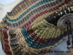 Touch of Arizona Antler Basket by Cathryn Peters