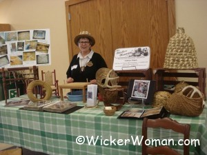 Earth Fest 2011 Wicker Woman booth