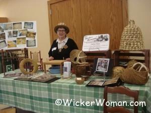 Earth Fest 2011 Wicker Woman booth