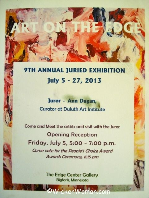 Art on the Edge 9th Annual Juried Art Exhibition