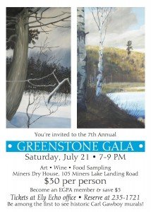 Ely Greenstone Art Show Invite 2012