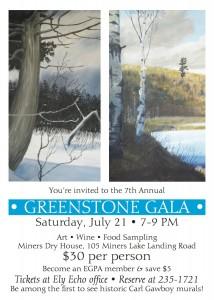 Ely Greenstone Art Show Invite 2012