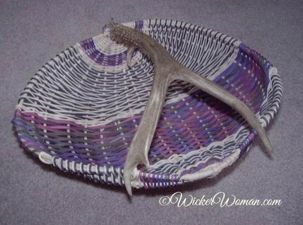 Fancy Muledeer Antler Basket Pattern