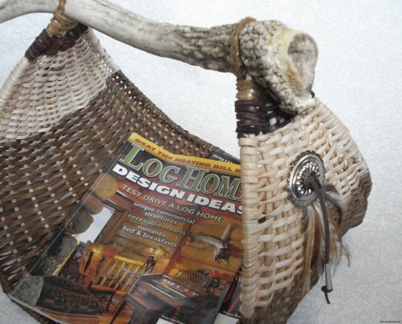 Antler Basket Exhibit–Virginia, MN