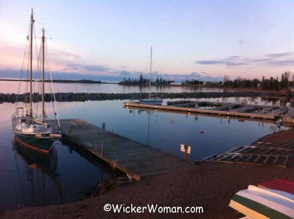 harbor at Grand Marais, MN