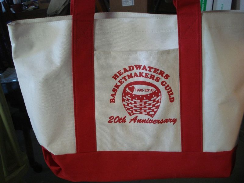 Headwaters-Basket-Guild 20th anniversary tool bag