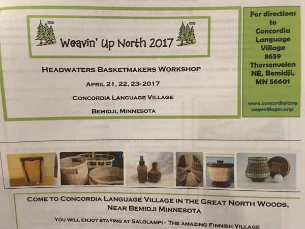 Weavin' Up North Workshop Brochure