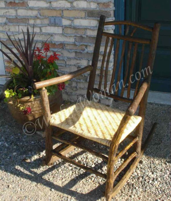 Indiana Chair Company rustic rocker
