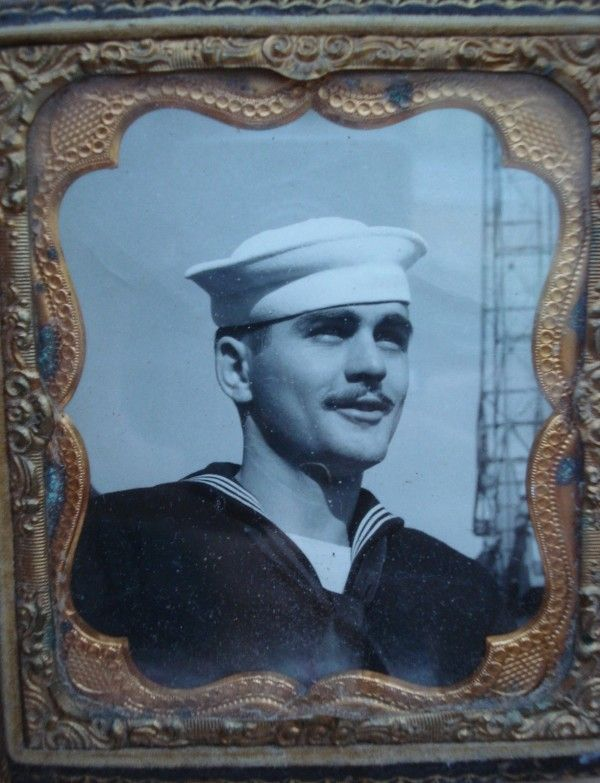 Jack Jungroth in the Navy 1951