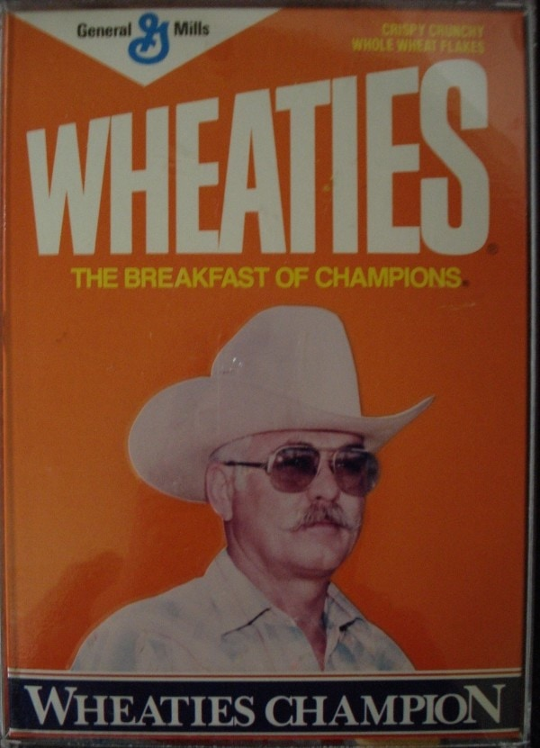 Jack Jungroth on the Wheaties cereal box