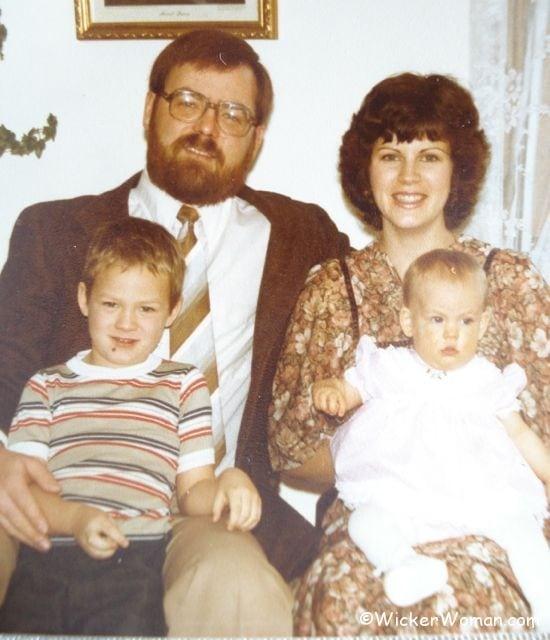John Peters family photo Lake City, MN 1979