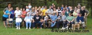 Jungroth Family Reunion Group Mora, Minnesota 9-19-09