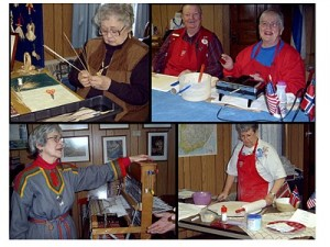 Ethnic arts and crafts at Kaleva Hall, Virginia, MN