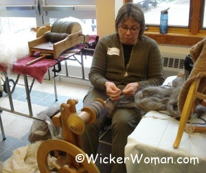 Kathy Jacklen spinning wool 4-12