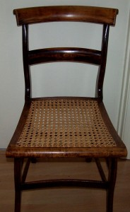 Chair Caning by PSL Caner, Lori Burris