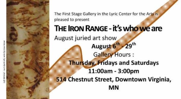 Iron Range Art Exhibit 8-2015