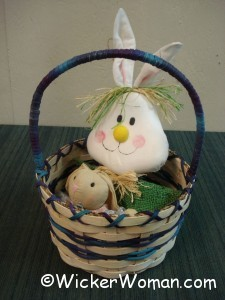 Easter basket made at NWFA 3-2012