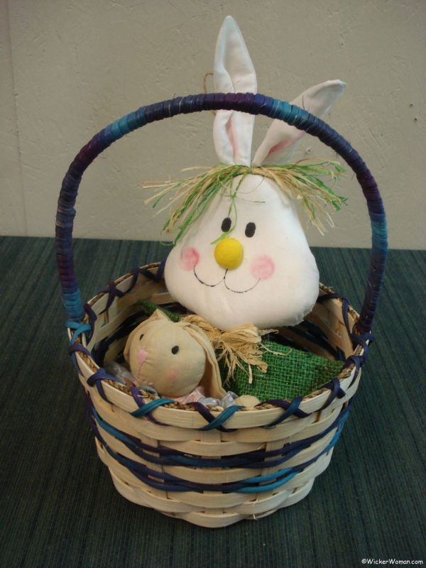 Woven Easter Basket Class in Cook, MN