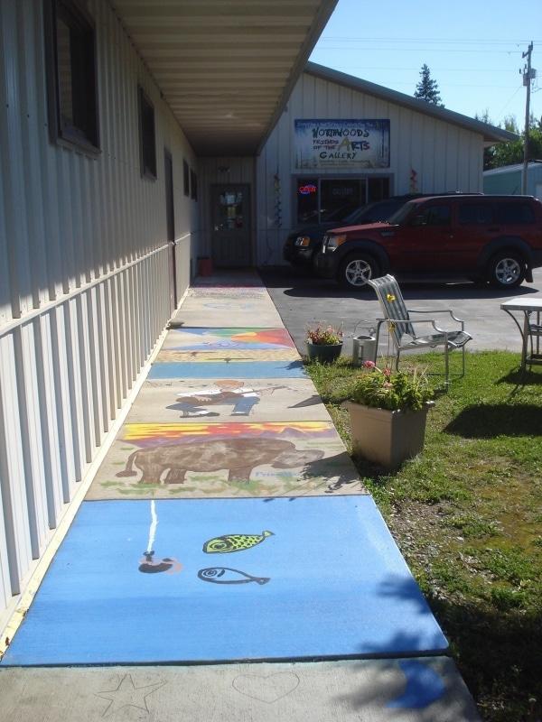 NWFA Sidewalk Art 9-2015