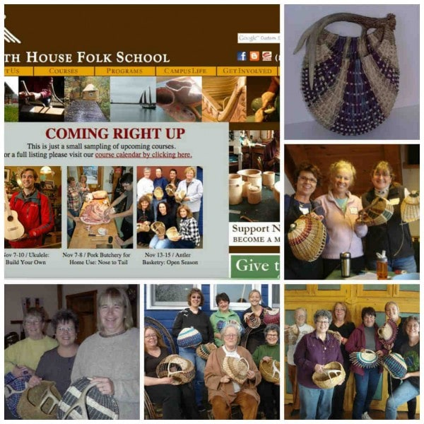Antler Basket Class with Cathryn Peters 2015