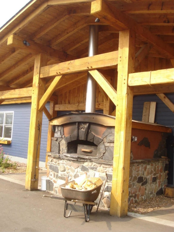 North House Folk School pizza oven