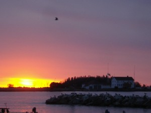 Sunrise on Lake Superior Grand Marais