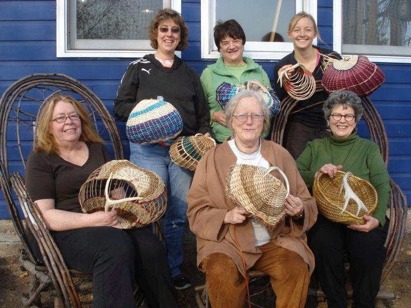 Antler Basket Class 2011–North House Folk School