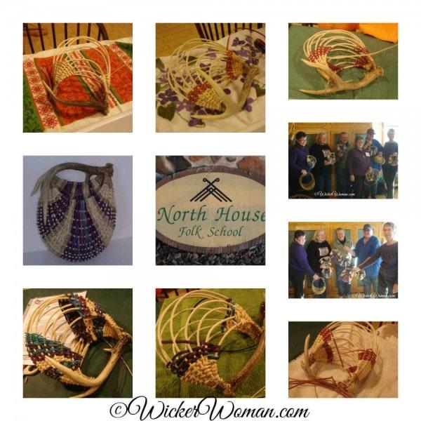 North House Folk School Antler Basket Class